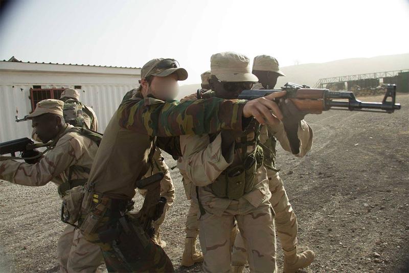 Belgische Special Forces bei der Ausbildung © mil.be