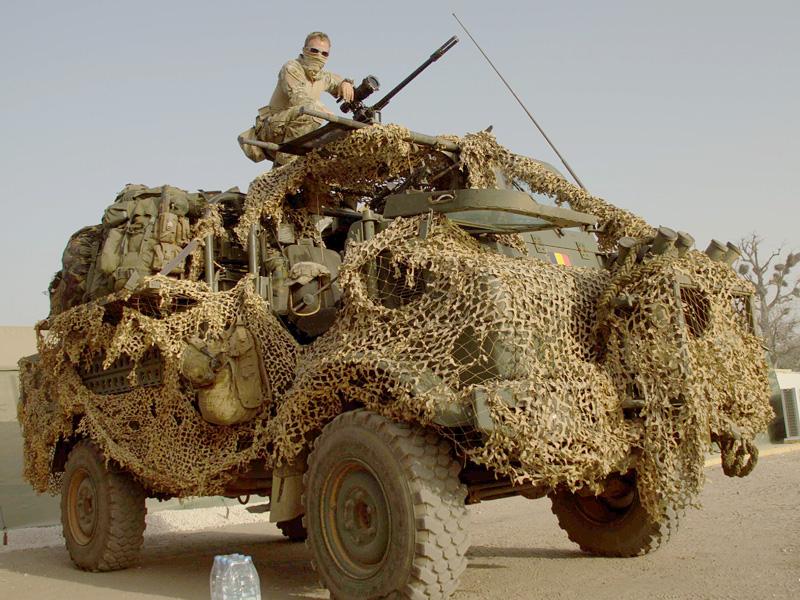 UNIMOG der belgischen Special Forces © mil.be