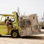 Güterverkehr am Flughafen © Bundesheer