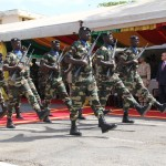 Parade als Teil der Closing Ceremony © US Botschaft Senegal