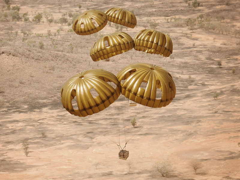 Versorgung aus der Luft © Bundesheer