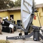 Satellitenverbindung des österreichischen Kontingents © Bundesheer