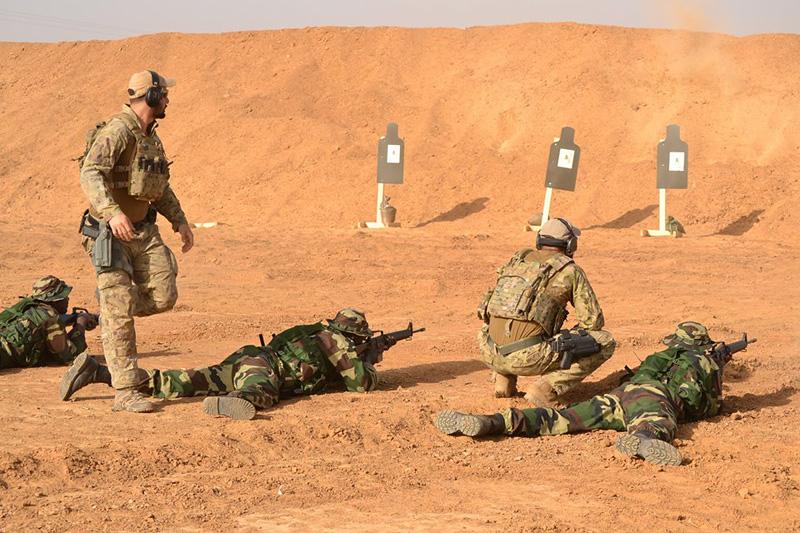 US Soldaten trainieren afrikanische Einheiten am Schießstand © US Army
