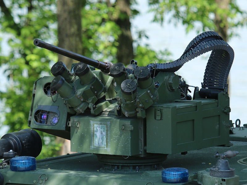 Waffenstation mit 12,7 mm MG des Husar (Iveco LMV) © Doppeladler.com