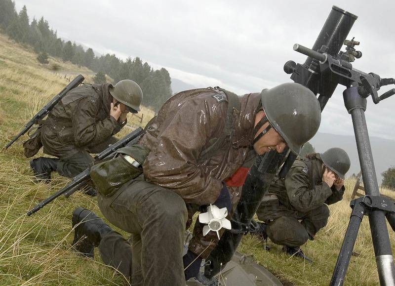 Bei der Miliz immer noch in Verwendung: M75 von Ulbrichts Witwe © Bundesheer