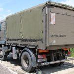 MAN 12.240 4x4 BL mit Wechselaufbau für den Gütertransport mit Laderampe © Doppeladler.com