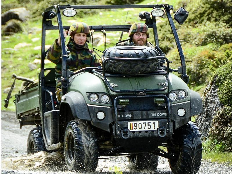 Leichtes ATV des belgischen Kontingents © Bundesheer