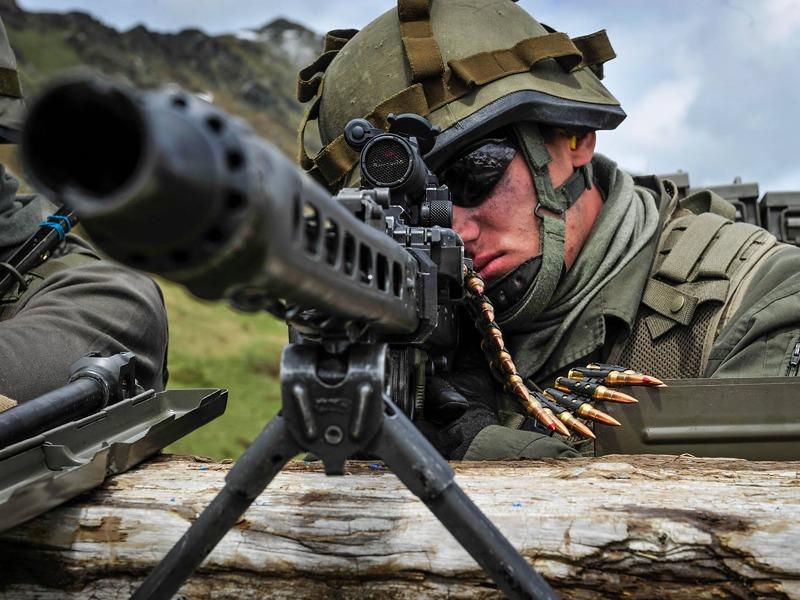 7,62mm MG-74 mit der neuen Visiereinrichtung © Bundesheer