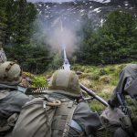 Überschweres MG 12,7 mm im scharfen Schuss © Bundesheer