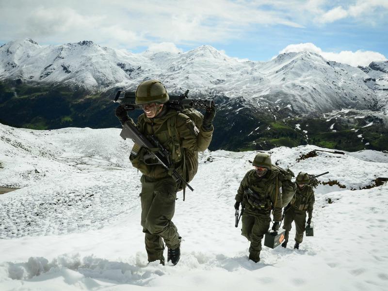 Österreicher im Hochgebirge © Bundesheer