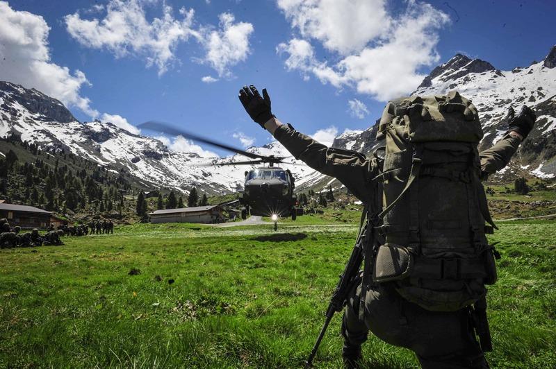 Geübt wurden auch Hubschrauberoperationen im Gebirge © Bundesheer