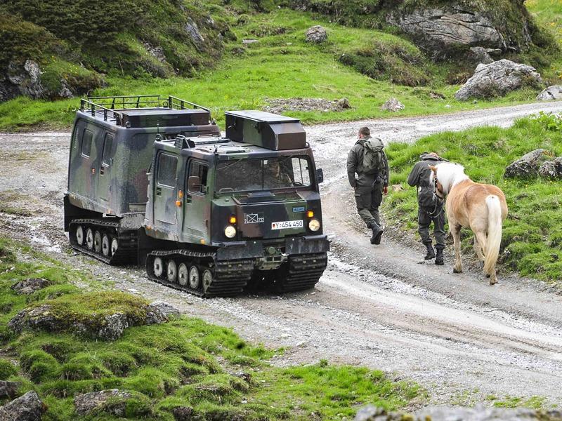 Eben wurde eine neue Initative zur Beschaffung von Hägglunds für das ÖBH gestartet © Bundesheer