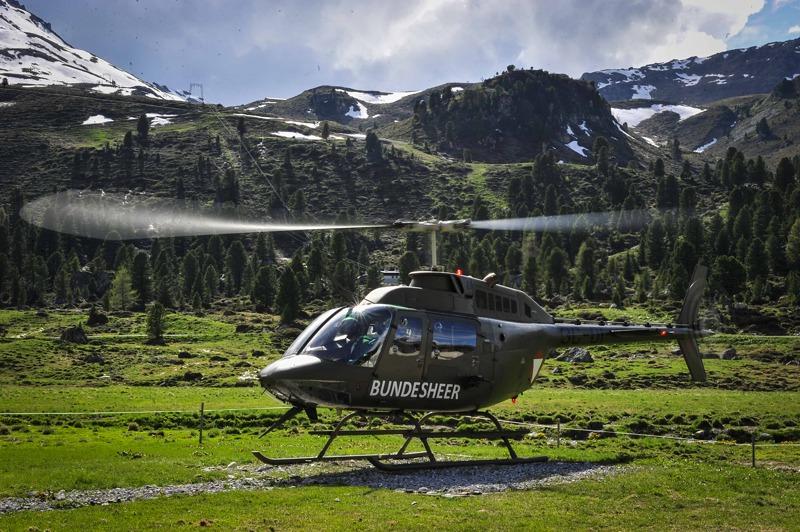 Bell OH-58B Kiowa © Bundesheer