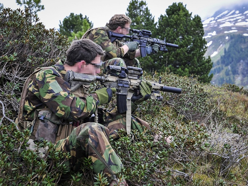 Niederländische Spezialeinsatzkräfte © Bundesheer