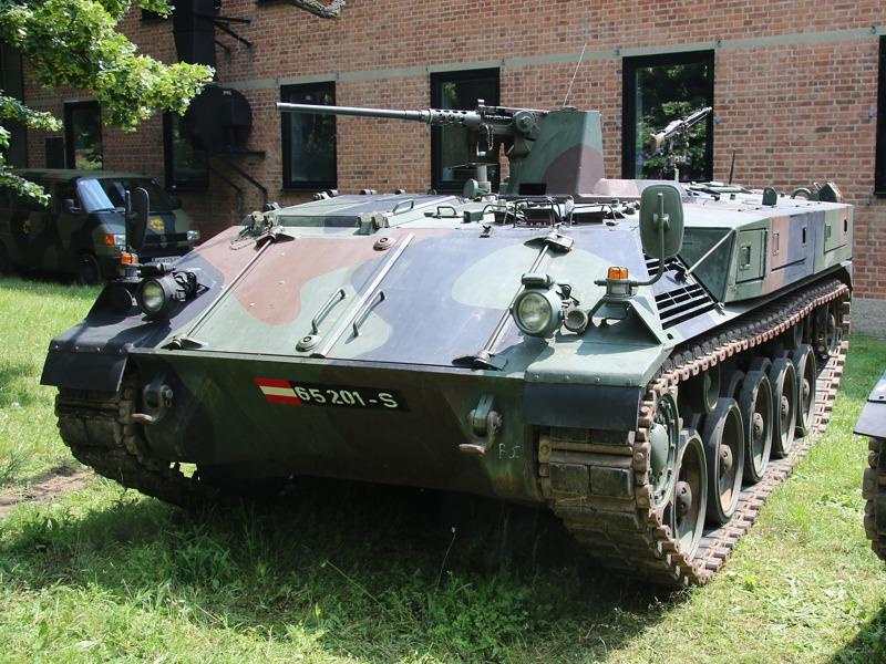 Schützenpanzer SPz A1 mit 12,7 mm MG und Staukästen © Doppeladler.com