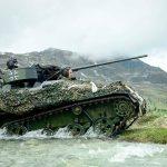 Deutscher Waffenträger Wiesel 1 MK mit 20 mm MK © Bundesheer