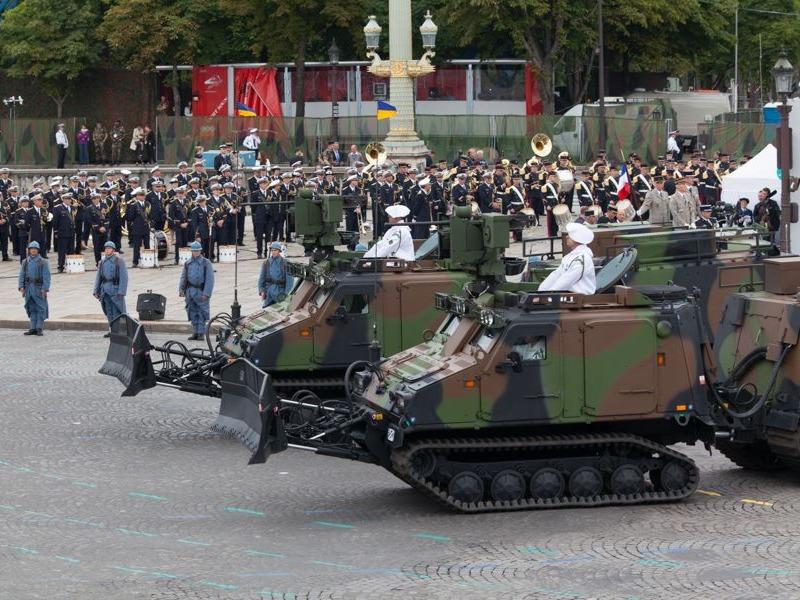 BvS10 der französischen Streitkräfte (VHM - Véhicule Haute Mobilité) © Franz. Streitkräfte