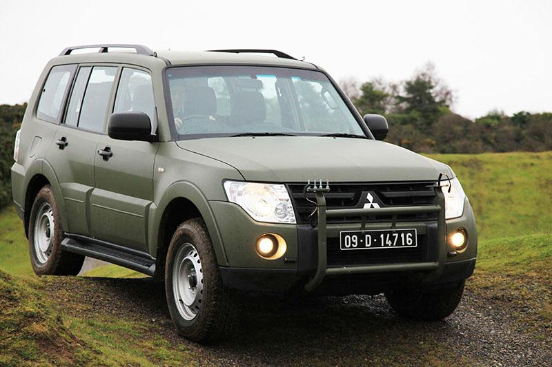 Mitsubishi Pajero als Verbindungsfahrzeug der irischen Streitkräfte © Irish MoD