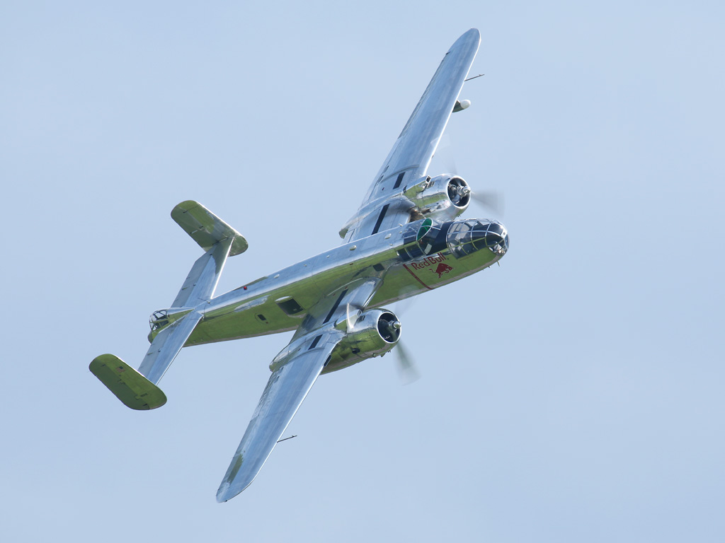 North American B-25J Mitchell © Doppeladler.com