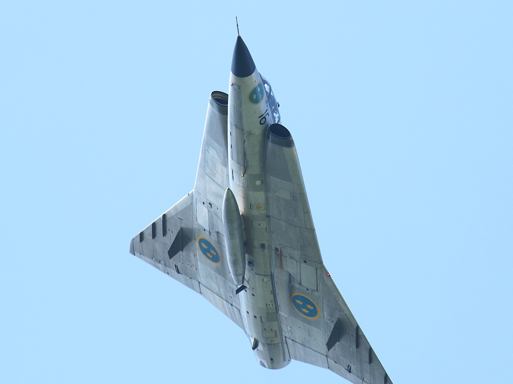 Saab Sk 35C Draken 79 von Swedish Air Force Historic Flight © Doppeladler.com