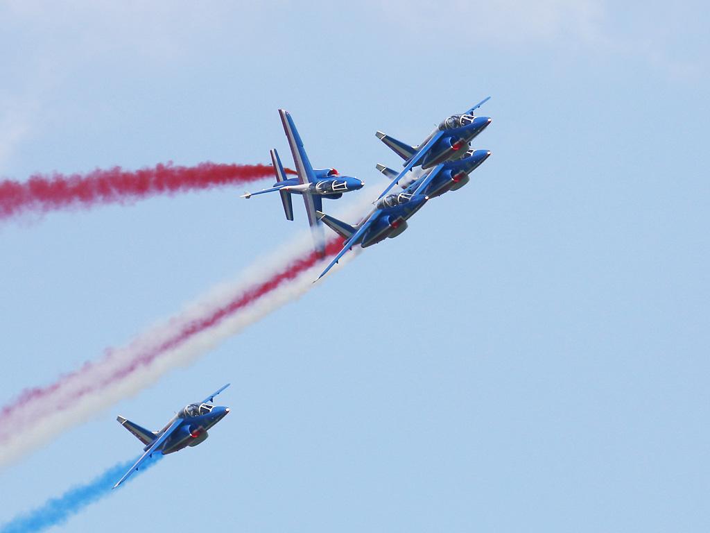 Patrouille de France (Dassault-Dornier Alpha Jet) © Doppeladler.com