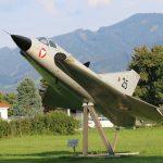 Saab J-35Oe Draken Mk II 25 (ehem. Bodentrainer) © Doppeladler.com