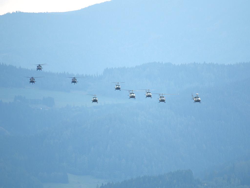 Hubschrauber des Bundesheeres © Doppeladler.com