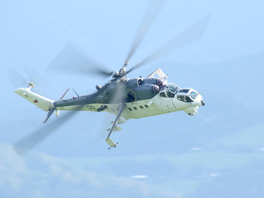 Mil Mi-35 Hind 3370 aus Tschechien © Doppeladler.com