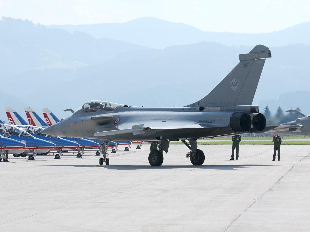 Dassault Rafale C 142 der Armée de l'Air © Doppeladler.com