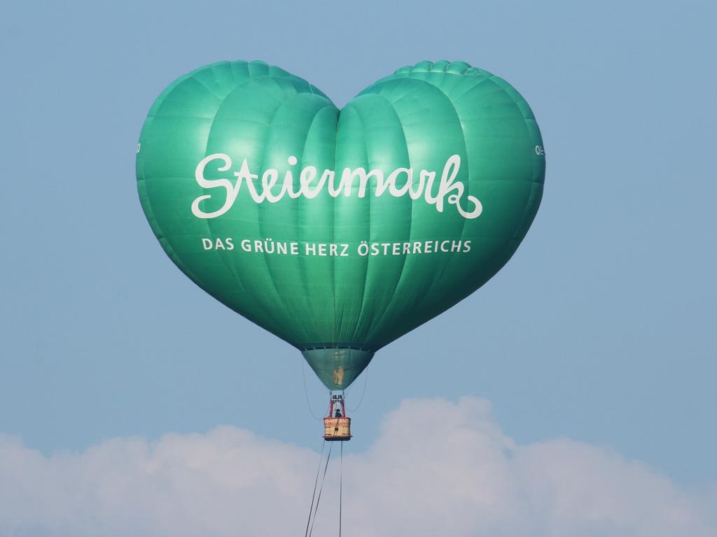 Beitrag von Co-Veranstalter Steiermark zum Flugprogramm © Doppeladler.com