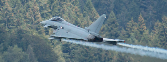 Eurofighter Typhoon bei der AIRPOWER16 © Doppeladler.com
