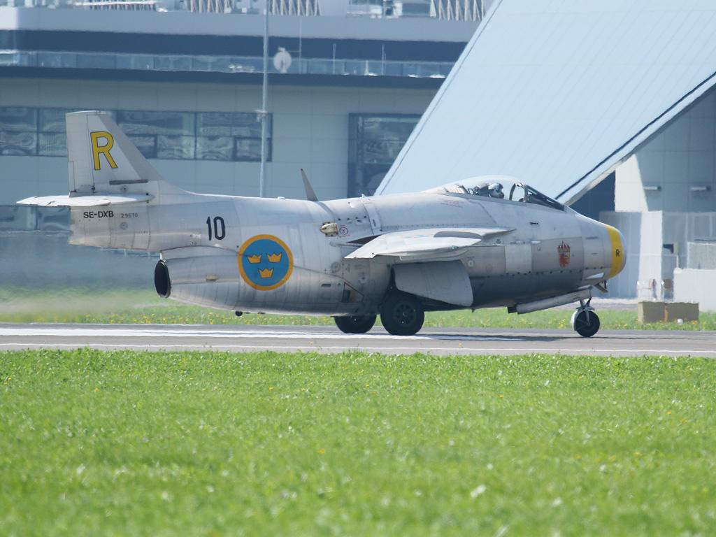 """Fliegende Tonne "" - Saab J-29F Tunnan © Doppeladler.com"