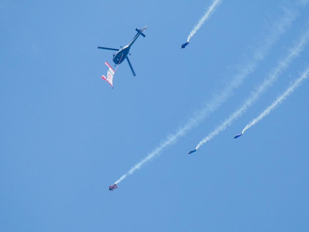 Wingsuit-Rennen © Doppeladler.com