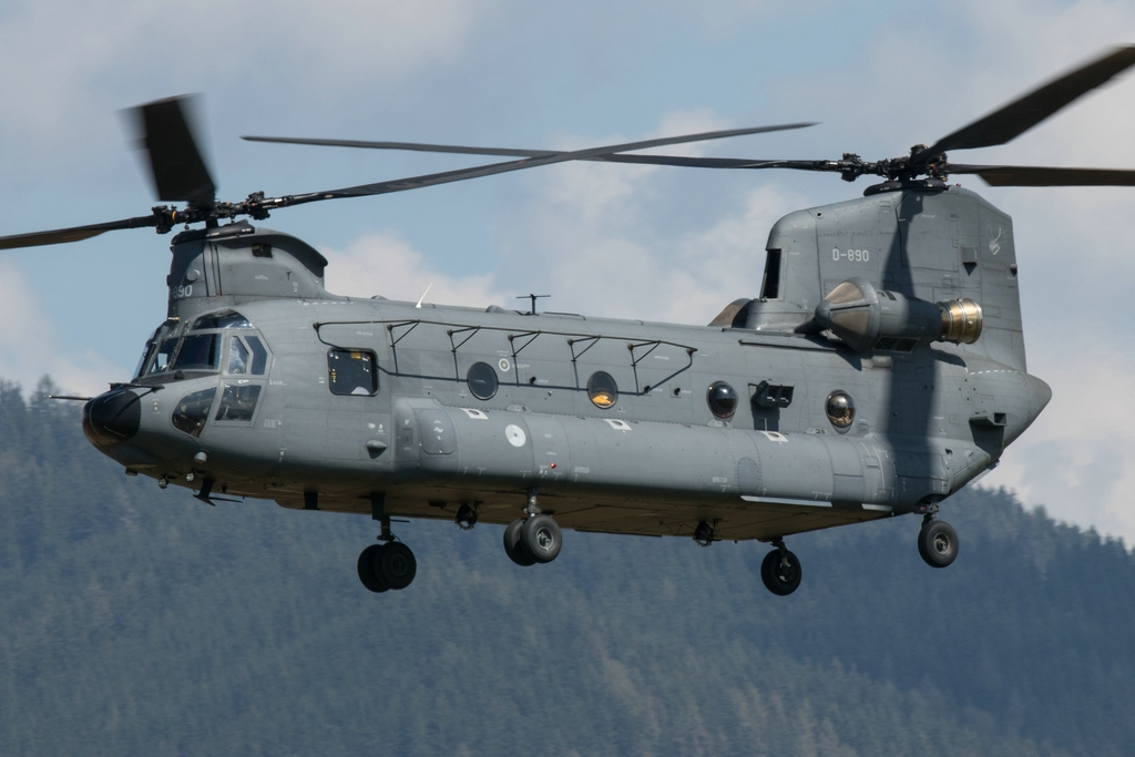 WB1 - Chinook D-890 Ankunft © warbird