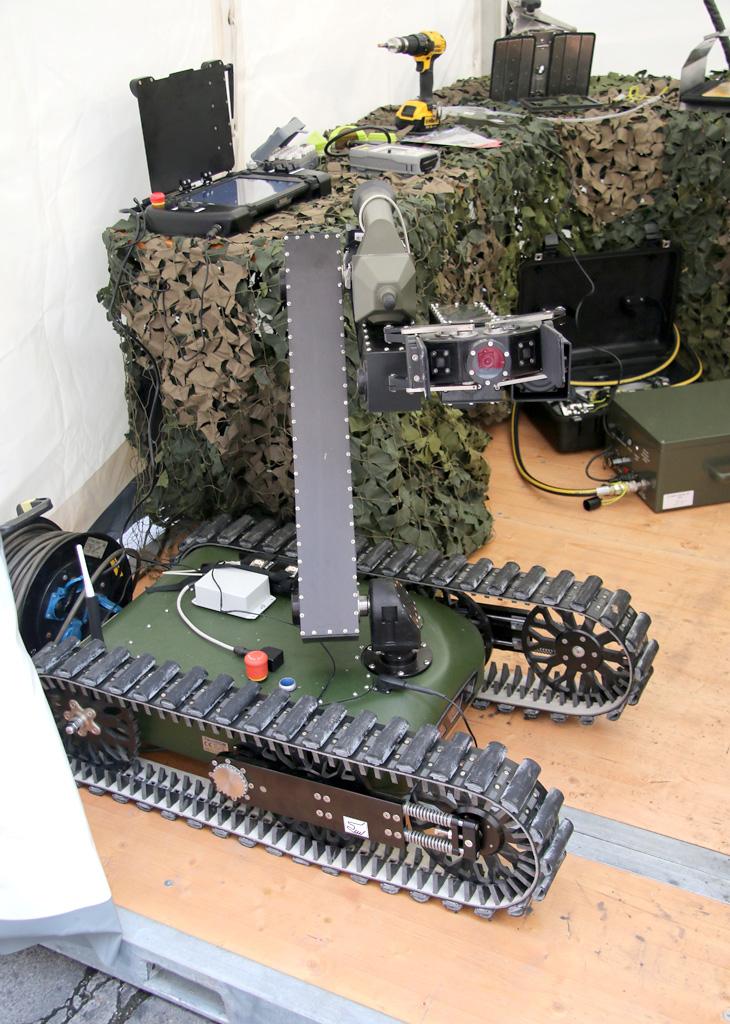 Spürhund 2.0 der ABC Abwehr: Taurob Tracker © Doppeladler.com