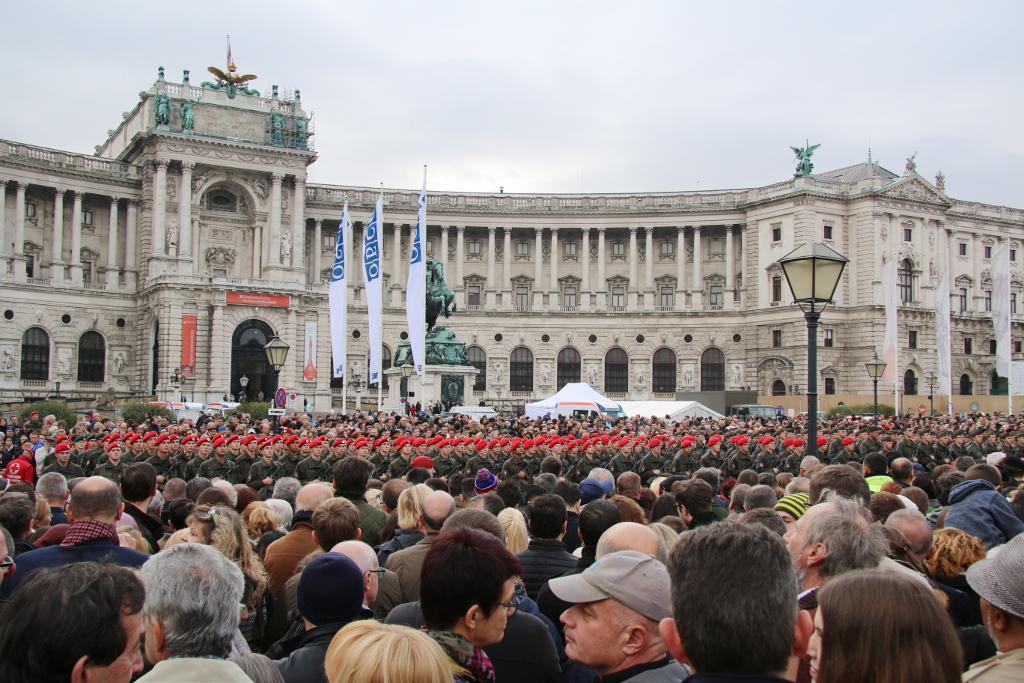 Angelobung am Wiener Heldenplatz © Doppeladler.com