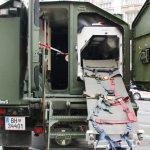 Dingo 2 Notfallfahrzeug mit Einbausatz zur Behandlung kontaminierter Patienten © Doppeladler.com