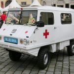 SAN-Haflinger des Traditionsverbands Heereskraftfahrwesen © Doppeladler.com