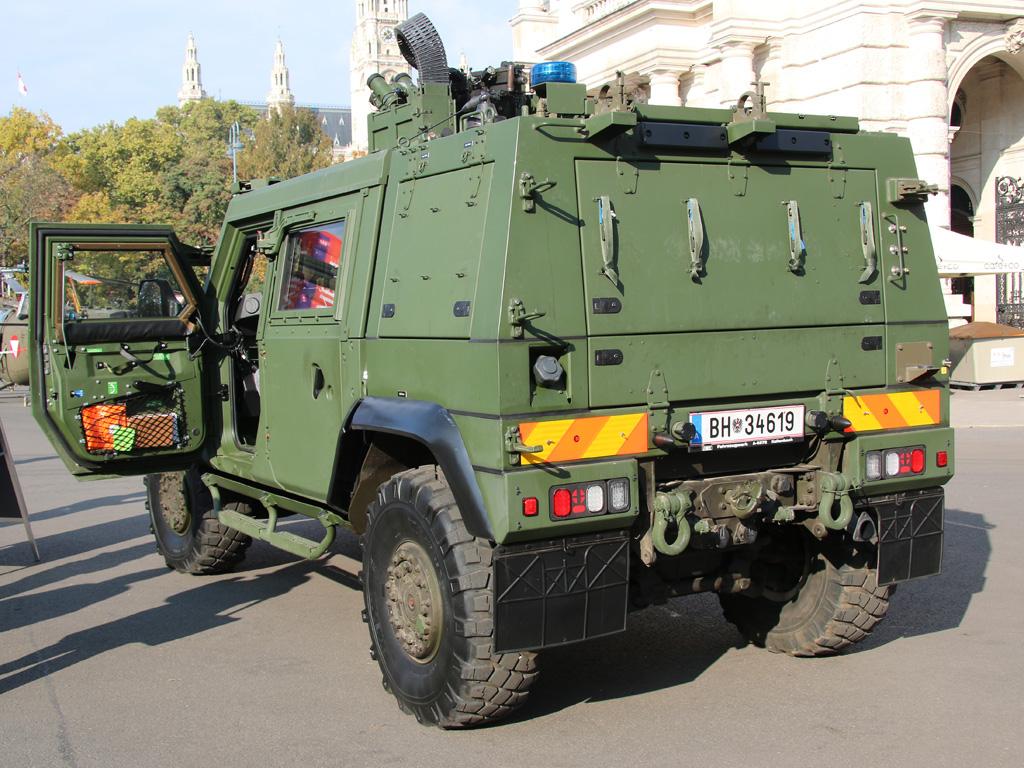 GMF Husar des Kommandos Militärstreife und Militärpolizei © Doppeladler.com