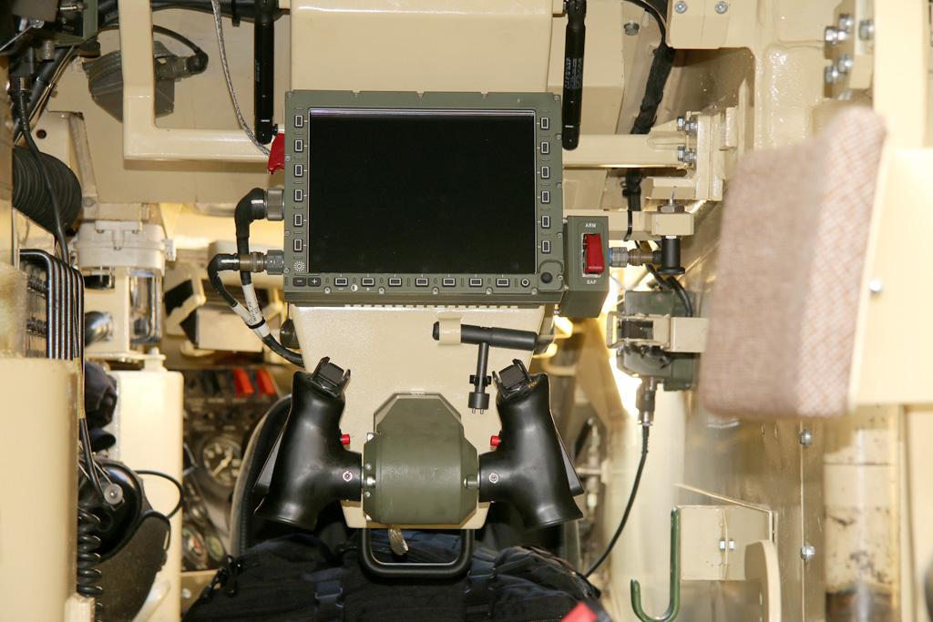 Bedienungseinheit der Waffenstation ERCWS-M © Doppeladler.com