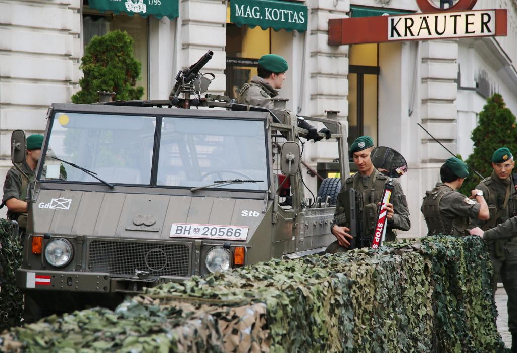 Milizinsel auf der Freyung © Doppeladler.com