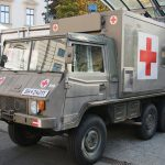 Sanitätsfahrzeug Pinzgauer 712 SAN © Doppeladler.com