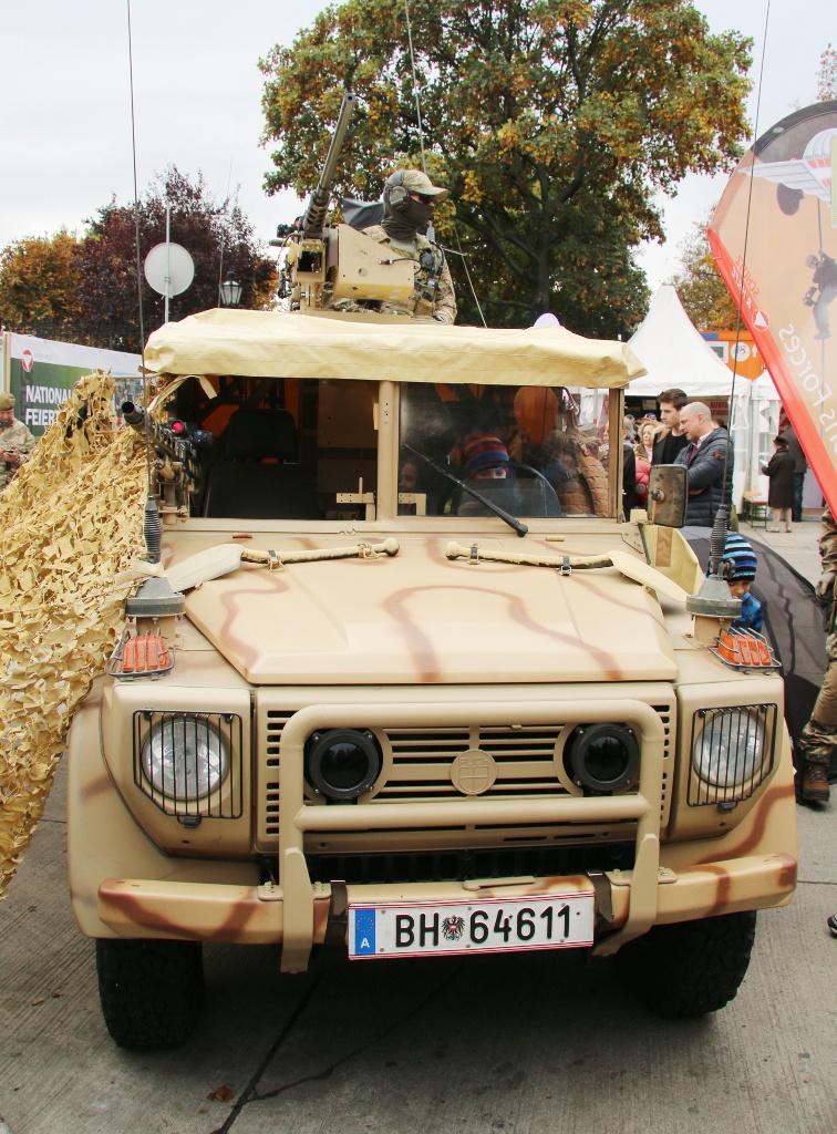 Sandviper mit neuen IR Scheinwerfern und Frontschutzbügel © Doppeladler.com