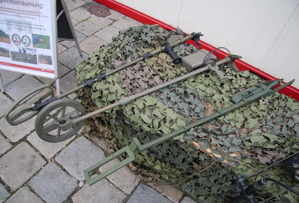 Minensuchgeräte des Bundesheeres © Doppeladler.com