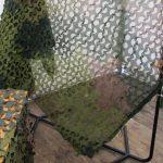 Amt für Rüstung und Wehrtechnik - dieses Tarnnetz lässt das Wärmebild eines Menschen einfach verschwinden © Doppeladler.com