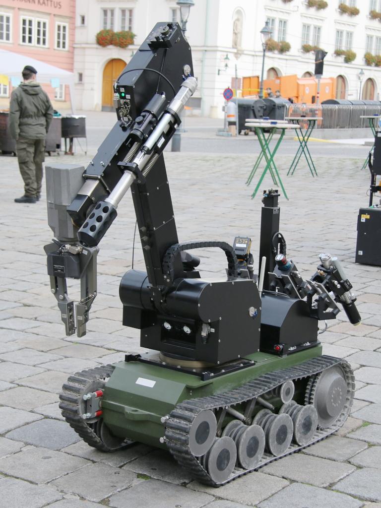 EOD Roboter tEODor © Doppeladler.com