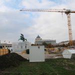 Baustelle Heldenplatz © Doppeladler.com