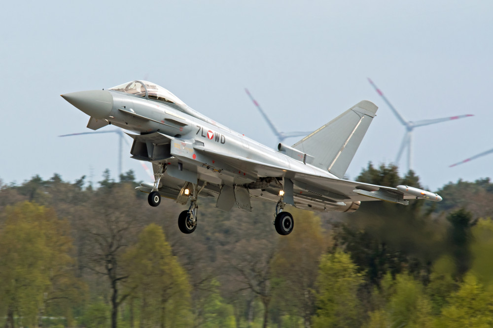 7L-WD - Eurofighter Typhoon © Jaap Zwagemaker