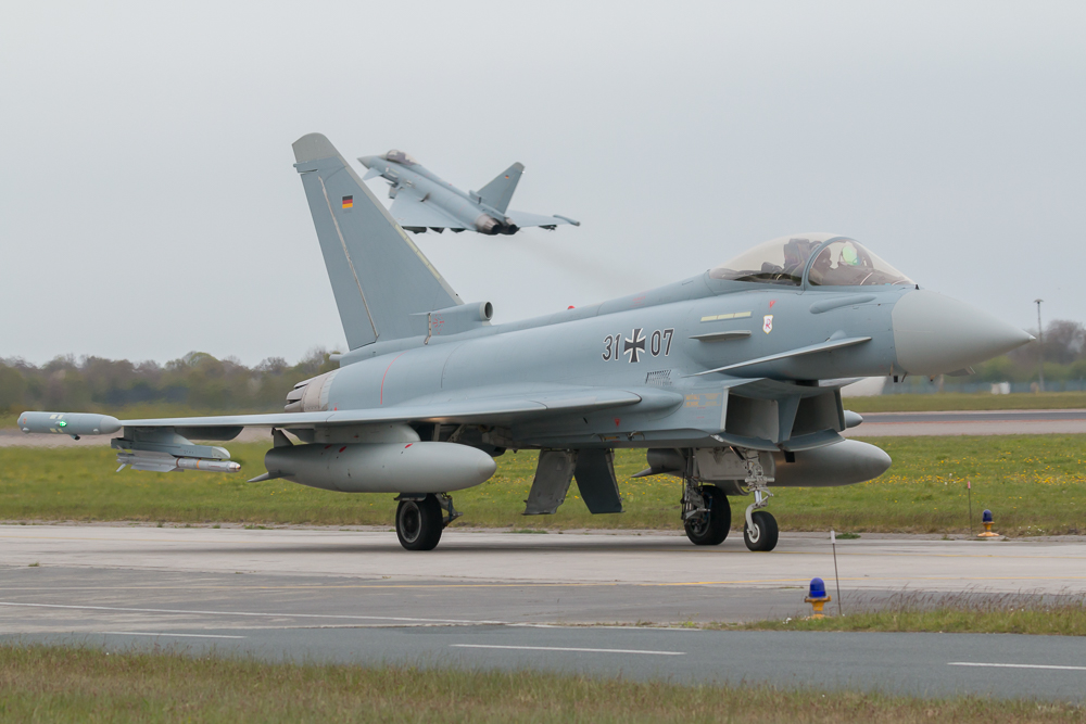 31+07 - Eurofighter Typhoon der Deutschen Luftwaffe © EaZy Aviation Photography