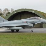 7L-WG - Eurofighter Typhoon vor einem Shelter © EaZy Aviation Photography